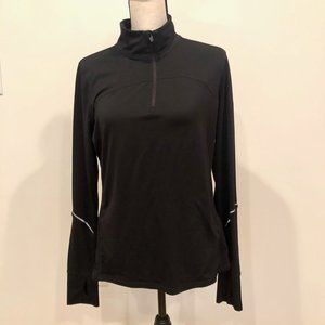 Gap Fit Long Sleeve Activewear Pullover Zip Shirt